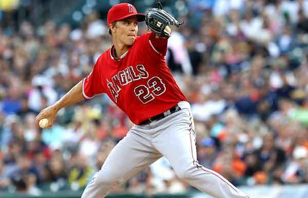 Greinke was the hottest name on the trade block last July, and many thought he was headed to Chicago. Credit: LA Times